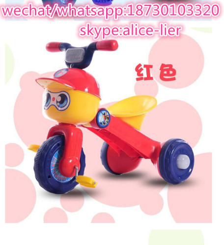 New Design Kids Tricycle with Music & Light