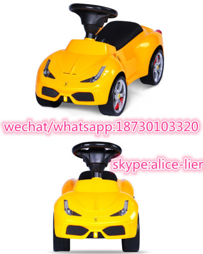 Newest Model New PP Plastic Ride on Swing Car