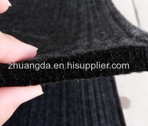 Chemical fiber felt white gray black polyester needled chemical fiber felt high temperature resistant industrial wool fe