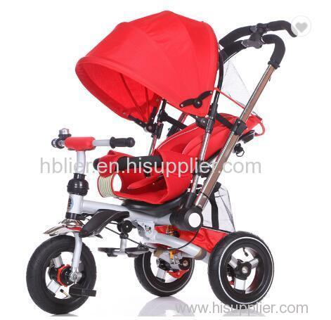 4 in1 trike for baby smart trike parts easy rider baby tricycle with CE certificate