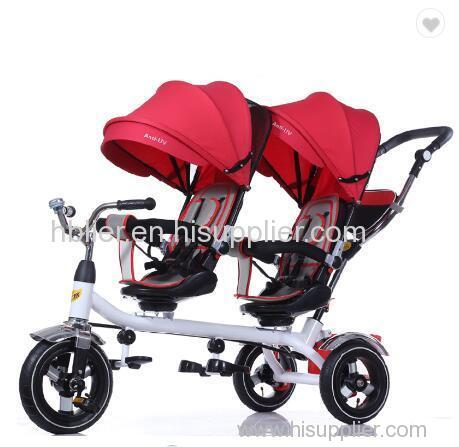 kids double seat baby tricycle / children tricycle two seat for twins