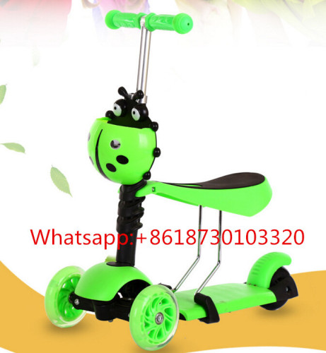 kids big wheel scooter child scooter/ cheap ids scooter/ kids ride on scooter for sale