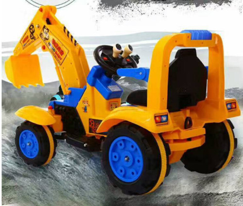 Ride on toy Excavator Volume Adjusted/ Children Electric Excavator for Sports