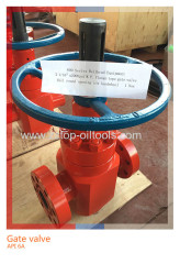 Wellhead API6A PPF Gate Valve Flanged Type