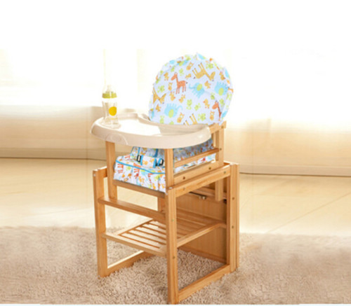Children table and chairs baby seat baby high feeding/dinner highchair