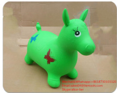 inflatable jumping horse animal toys