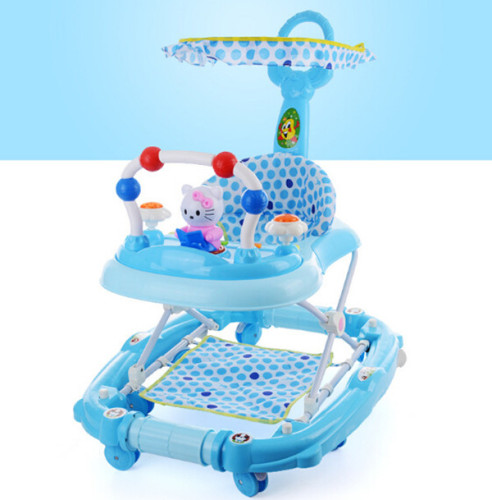 New model baby walker with safety Belt/Baby trolley walker with rocker