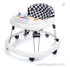 360 degree rotating foldable baby walker