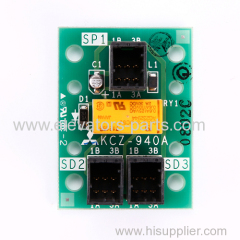 Mitsubishi Elevator Spare Parts KCZ-940A PCB Interface Board