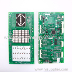 Mitsubishi Elevator Lift Parts LHD-730AGS20 PCB Car Display Panel Board