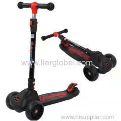3 wheel baby child kick scooter