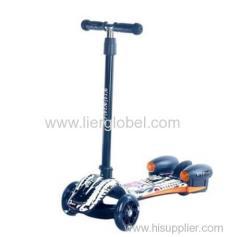 PU flash wheel scooter