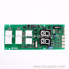 LG-Otis Elevator Lift Parts EISEG-106 REV1.2 PCB Display Board