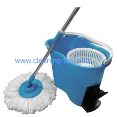 360 easy spin mop magic spin rotating mop bucket with pedal system
