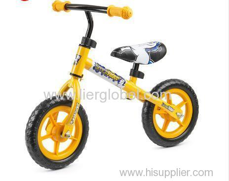 fashion and safe style kids balance bike no pedal for toddler