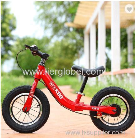 12 inch kids balance bike bicycle safety baby kick bike with EVA tyre