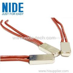 Metal case Reliable safety thermal wire protector for motors