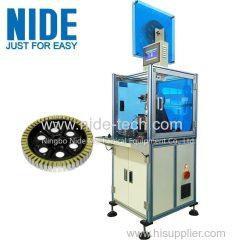 Single Working Station Wheel Motor Insulation Paper inserting machine