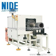 Automatical Stator Slot Paper Insertion equipment insulation paper inserting machine