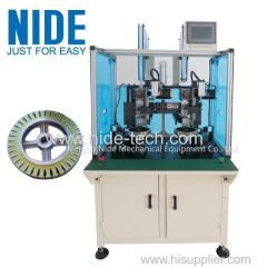 Double Station Wheel Motor Insulation Paper Inserting Machine inseter eqipment
