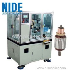 DOUBLE TOOLS COMMUTATOR COLLECTOR ROUGH TURNING PRECISION TURNING MACHINE