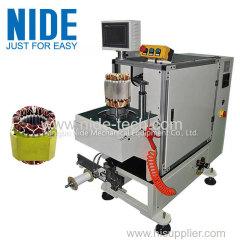 washing machine motor automatic stator wire lacing machine