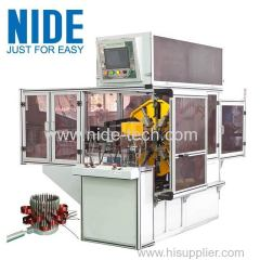 NIDE generator motor stator winding machine for Electric generator motors