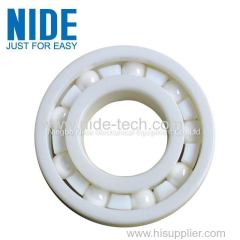 Hybrid construction ceramic ball bearing