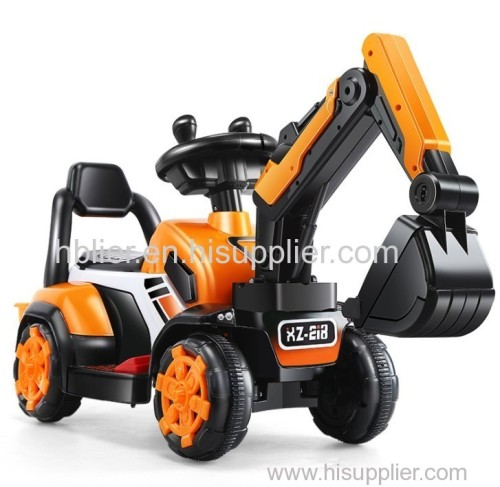 Easy operate kids ride on excavator kid truck
