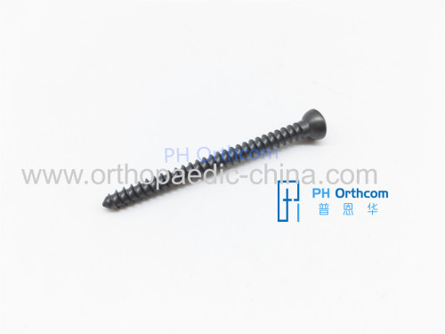 Trauma Orthopaedic Implant Titanium 2.5/3.5 /4.5mm Cortical Screws