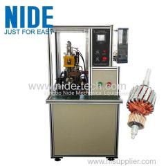 Automatic Armature Fusing Machine Commutator Welding Machine