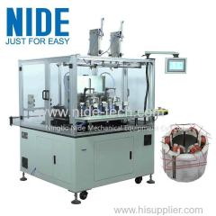 Stator coil needle winder BLDC motor coil winding machine