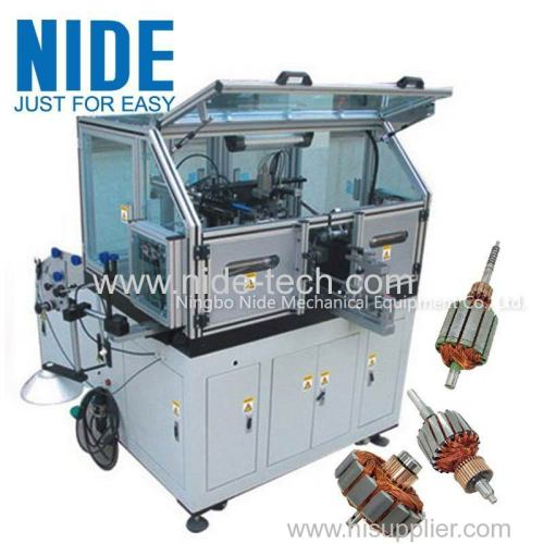 AC Servo Small Wire Automatic Armature Winding Machine For DC Motor