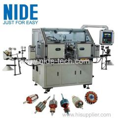 Mixer motor automatic two winding heads rotor armature winder