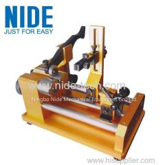 Shaft concentricity tester motor shaft production machine