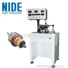 Auto servo motor rotor testing equipment armature dynamic balancing equipment