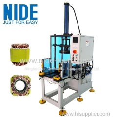 Automatic Enter and Exit Station winding Final Forming Machine whit PLC control
