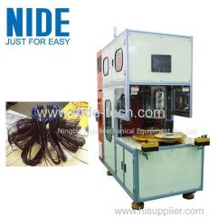 Automatic ceiling fan motor stator coil winding machine for transfomer
