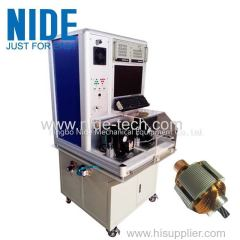 NIDE Automatic armature rotor surge testing panel machine for kinds of power tool