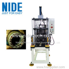 Automatic stator coil shape final expanding and forming machine