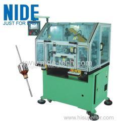 Servo cnc motor cummutator armature rotor turning process lathe machine equipments