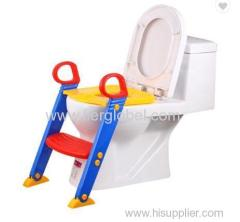 Baby Potty Toilet Training Foldable Potty Ladder