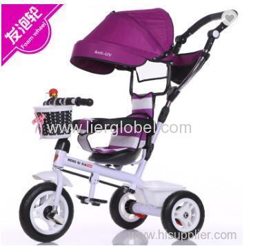 3 wheels baby tricycle 360 degree rotation children trike kid tricycle