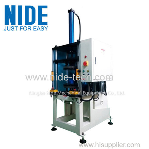 Auto induction motor stator coils forming shaping machine for fan motor