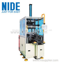 Automatic stator final forming machine with protector