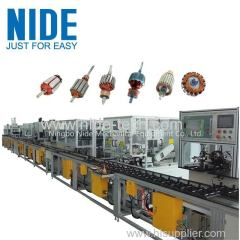 Automatic Mixer Motor Rotor Production Assembly Line Machinery