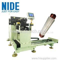 Катушка статора двигателя глубокого водяного насоса и машина для вставки клина
