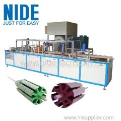 Armature Slot Electrostatic Powder Coating Machine