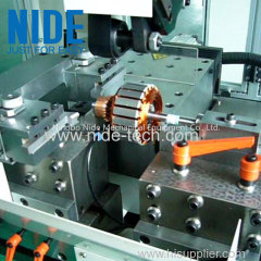 Automatic high precision rotor commutator turning machine wiht plc control