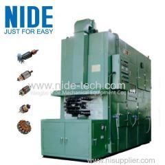 Rotor automatic varnishing machine